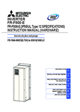 Instruction manual FR-F 846E2