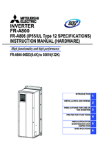 Instruction Manual FR-A 846