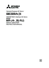 Instruction manual MR J4 B RJ
