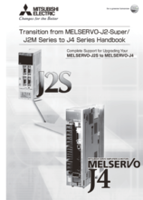 Transition from MR-J2 to MR-J4 Manual